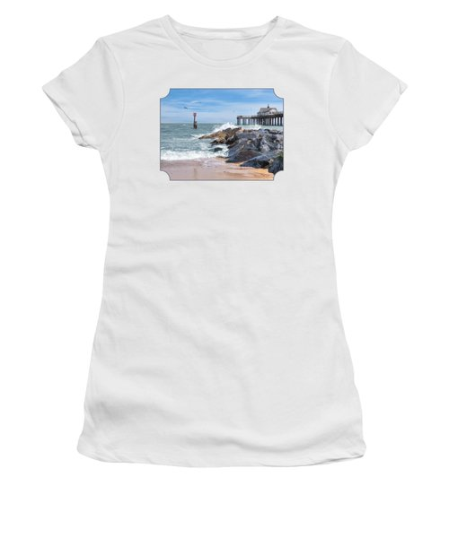 Tide's Turning - Southwold Pier Women's T-Shirt