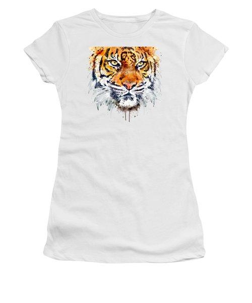 Tiger Face Close-up Women's T-Shirt