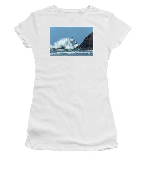 Tillamook Rock Light House, Oregon - Terrible Tilly Women's T-Shirt