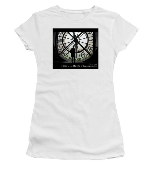 Time At The Musee D'orsay Women's T-Shirt (Athletic Fit)
