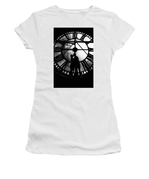Timeless Love - Black And White Women's T-Shirt