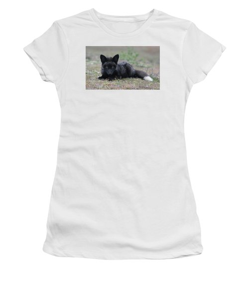 Women's T-Shirt (Junior Cut) featuring the photograph Here's Looking At You by Elvira Butler