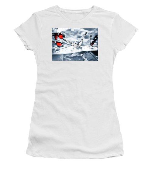 Times Of Butterflies Women's T-Shirt