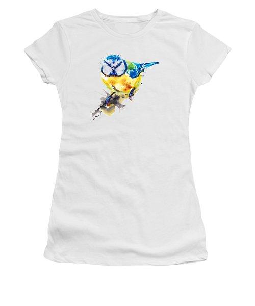 Blue Tit Women's T-Shirt