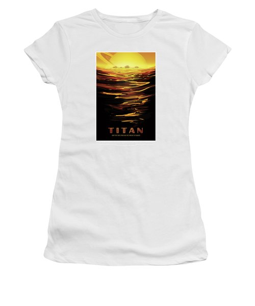 Titan - Ride The Tides Through The Throat Of Kraken - Vintage Na Women's T-Shirt