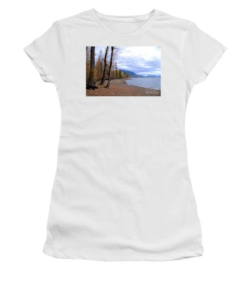 The Song Of October Women's T-Shirt (Junior Cut) by Victor K