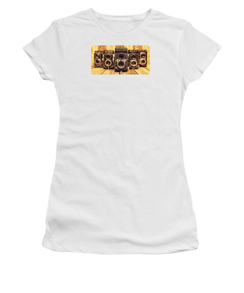 Women's T-Shirt (Junior Cut) featuring the photograph Tlr Group by Keith Hawley