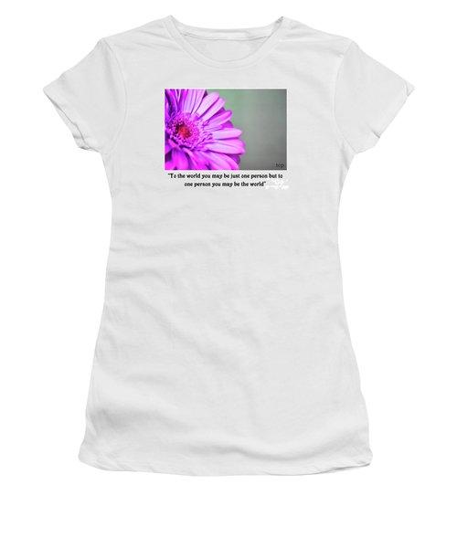 To The World Women's T-Shirt