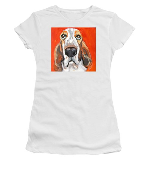 Toby Women's T-Shirt (Junior Cut) by Barbara O'Toole