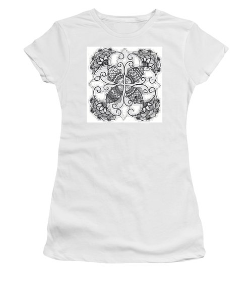 Together We Flourish - Ink Women's T-Shirt