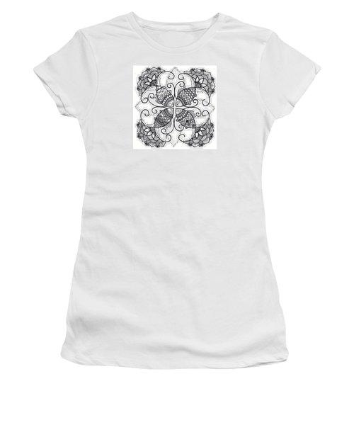 Together We Flourish - Ink Women's T-Shirt