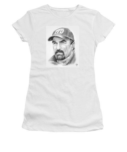 Tom Selleck Women's T-Shirt (Athletic Fit)