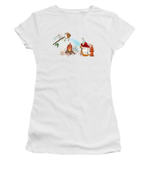 Too Toasted Illustrated Women's T-Shirt