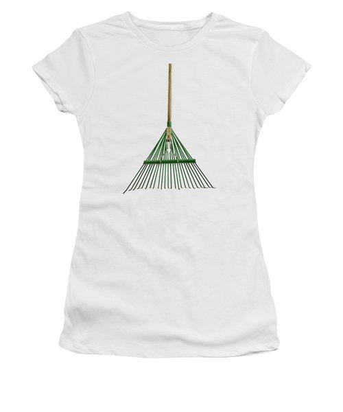 Tools On Wood 10 On Bw Women's T-Shirt