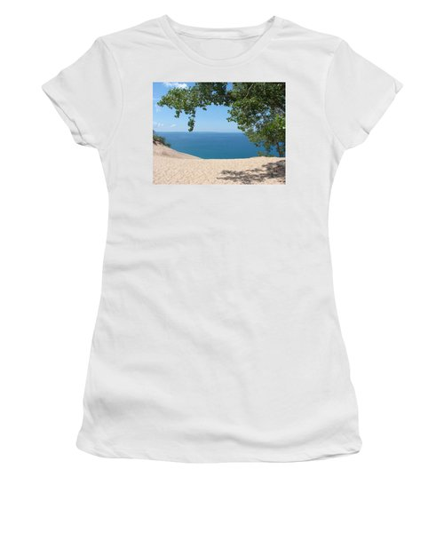 Top Of The Dune At Sleeping Bear Women's T-Shirt (Athletic Fit)