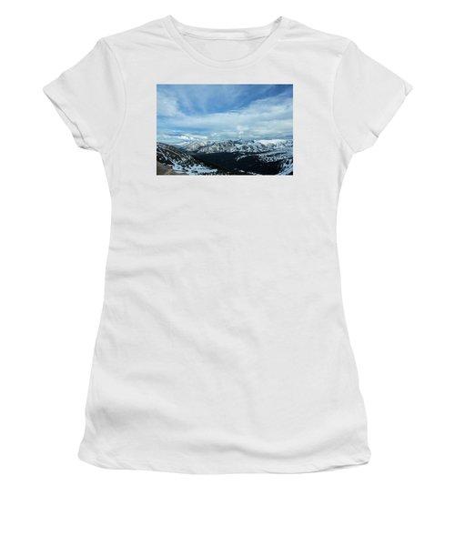 Top Of The Rockies Women's T-Shirt