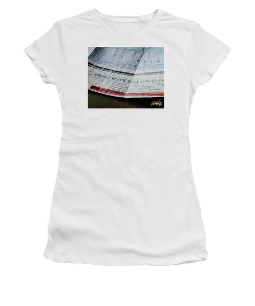 Top Secret - Omaha Beach Women's T-Shirt (Athletic Fit)