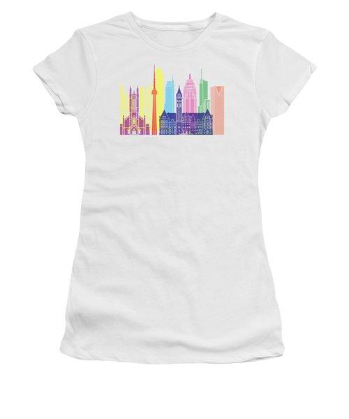 Toronto V2 Skyline Pop Women's T-Shirt