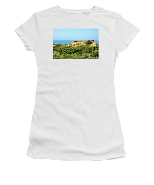 Torrey Pines California - Chaparral On The Coastal Cliffs Women's T-Shirt