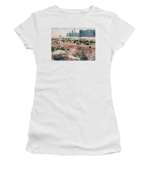 Totem Pole Women's T-Shirt (Junior Cut) by Donald Maier