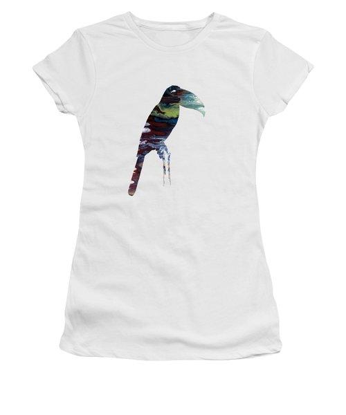 Toucan Women's T-Shirt (Junior Cut) by Mordax Furittus