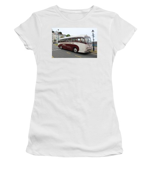 Tour Bus Women's T-Shirt (Athletic Fit)