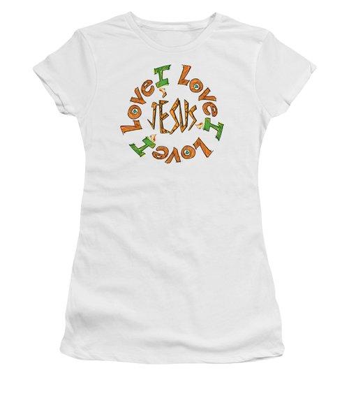 Tout Ce Que Vous Faites, Faites Le, De Bon Coeur Colossiens 3 23 Women's T-Shirt (Athletic Fit)