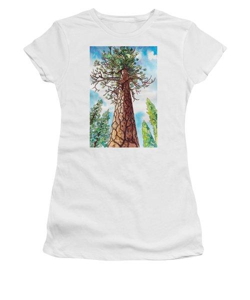 Towering Ponderosa Pine Women's T-Shirt