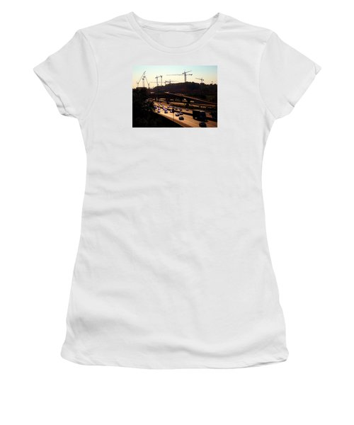 Traffic And Cranes Women's T-Shirt
