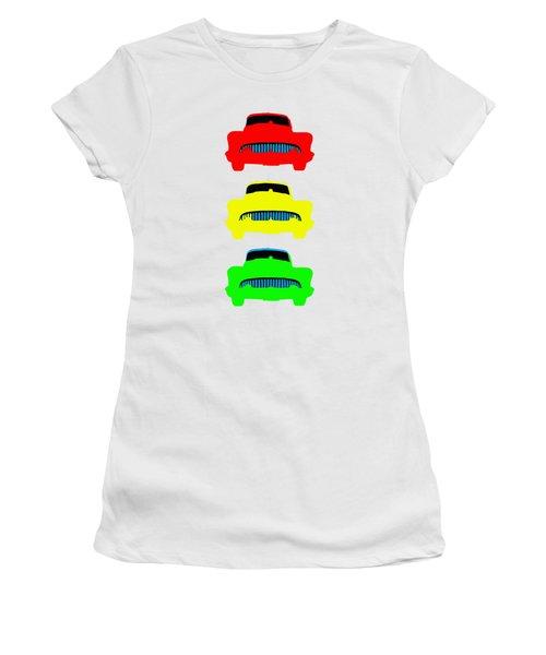 Traffic Light Cars Phone Case Women's T-Shirt