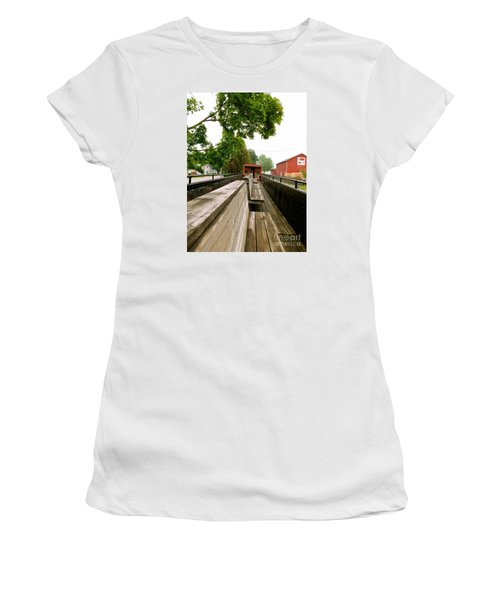 Train Ride Women's T-Shirt (Athletic Fit)