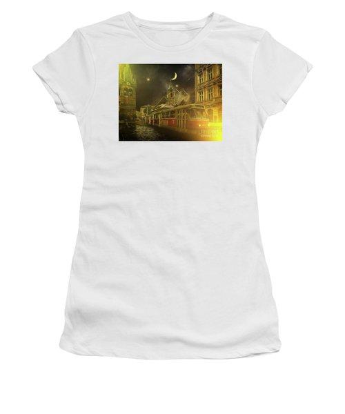 Tramatic - Prague Street Scene Women's T-Shirt