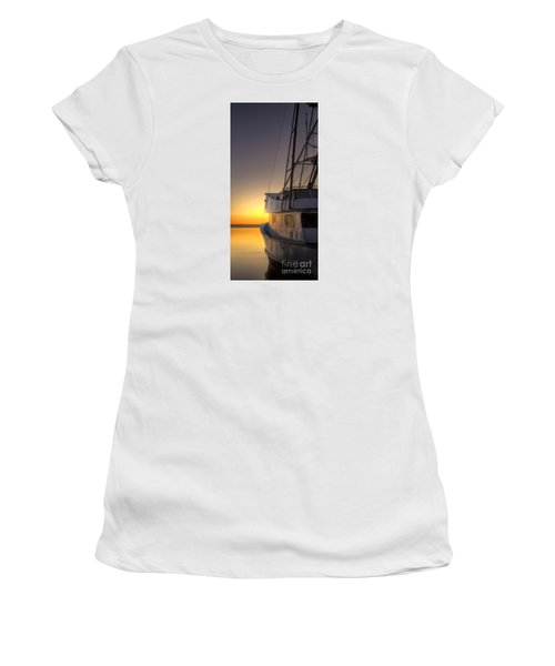 Tranquility On The Bay Women's T-Shirt (Athletic Fit)