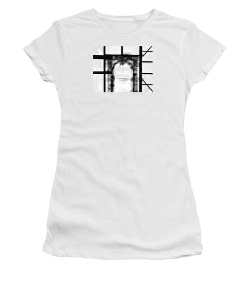 Women's T-Shirt (Junior Cut) featuring the photograph Transition by Newel Hunter