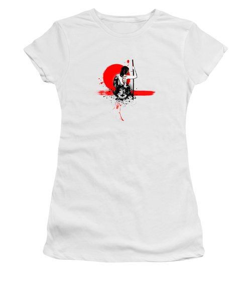 Trash Polka - Female Samurai Women's T-Shirt