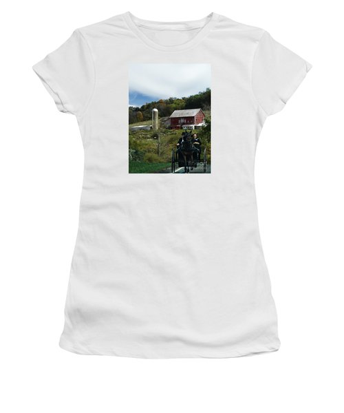 Travel Women's T-Shirt (Athletic Fit)