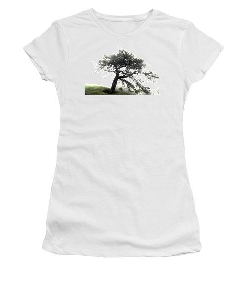 Women's T-Shirt (Junior Cut) featuring the photograph Tree by Alex Grichenko