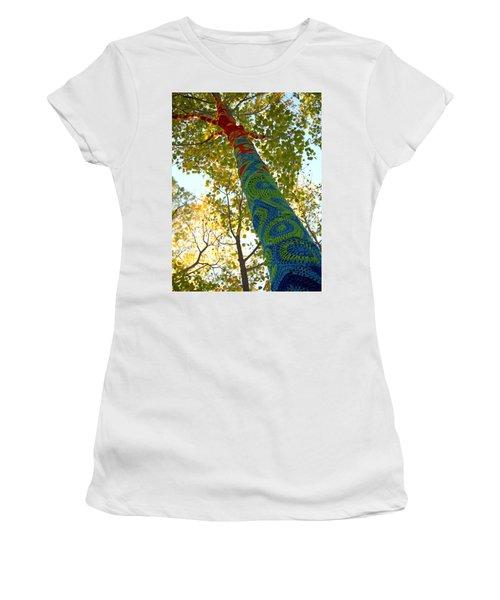 Tree Crochet Women's T-Shirt