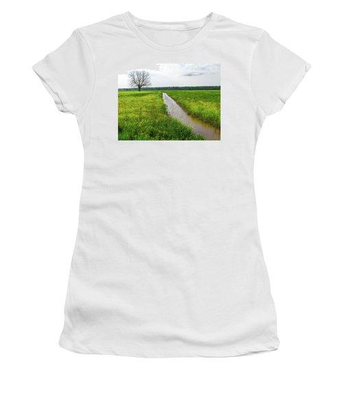 Tree In Field 2 Women's T-Shirt