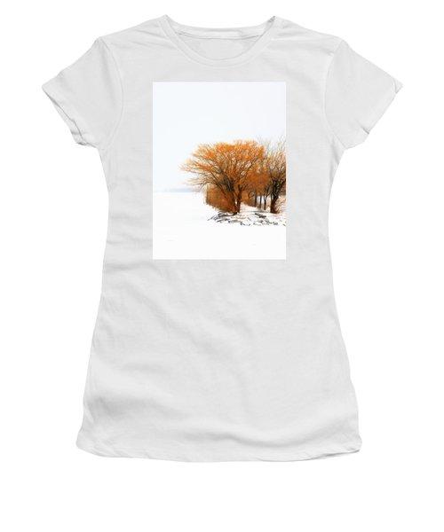 Tree In The Winter Women's T-Shirt