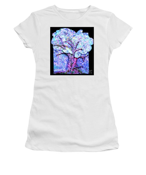 Women's T-Shirt (Junior Cut) featuring the painting Tree Menagerie by Genevieve Esson
