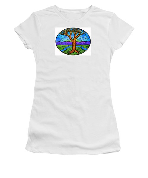 Tree Of Grace - Spring Women's T-Shirt (Junior Cut) by Jim Harris
