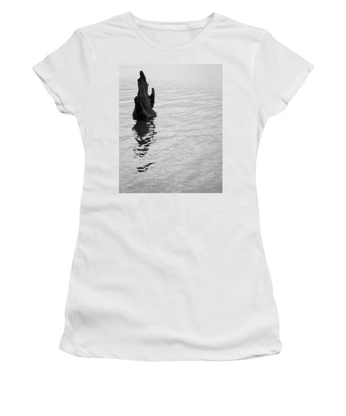Tree Reflections, Rest In The Water Women's T-Shirt