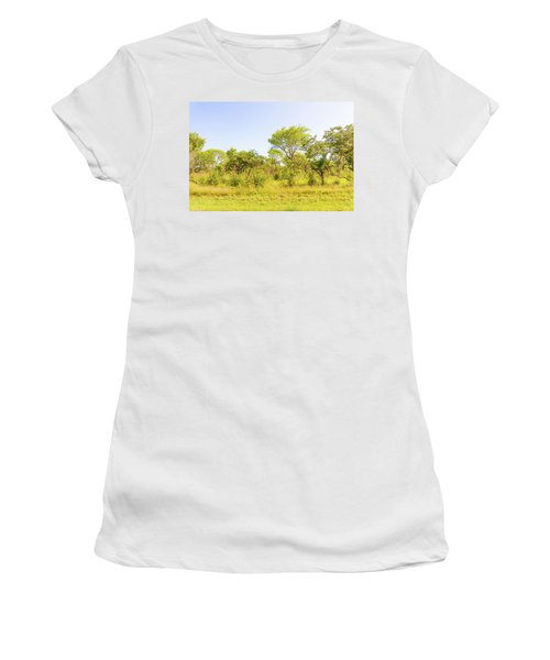 Trees In Zambia Women's T-Shirt (Athletic Fit)