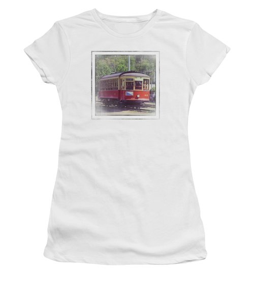 Trolley Car 42 Women's T-Shirt (Athletic Fit)