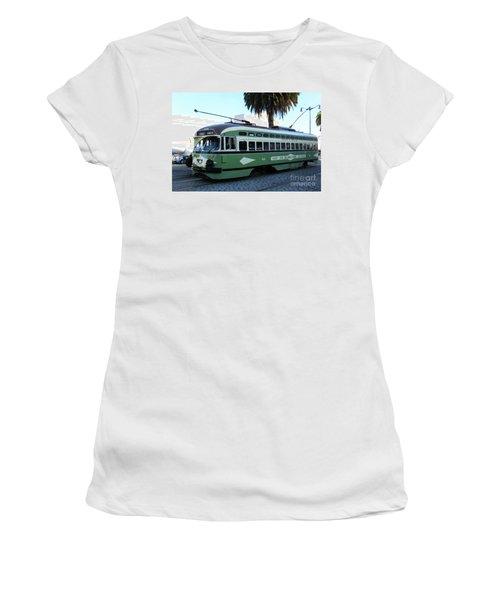 Trolley Number 1078 Women's T-Shirt (Junior Cut) by Steven Spak