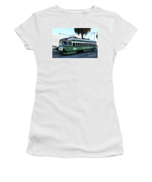 Trolley Number 1078 Women's T-Shirt (Athletic Fit)