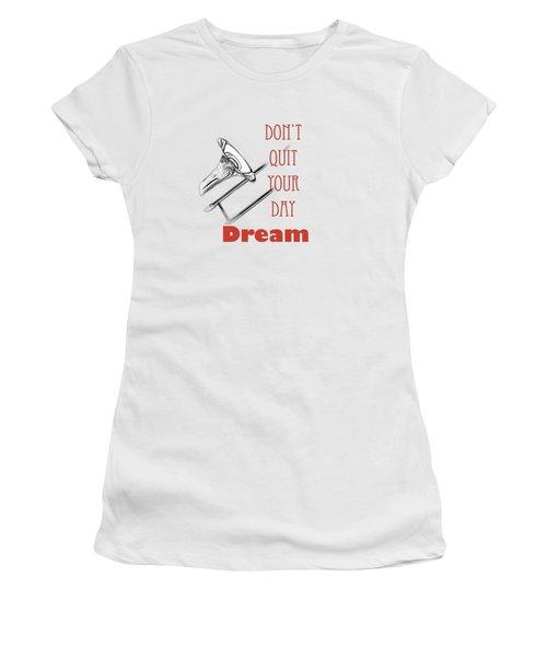 Trombone Fine Art Photographs Art Prints 5017.02 Women's T-Shirt