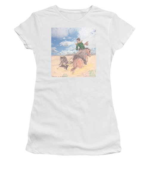Trouble In Bunches Classic Women's T-Shirt