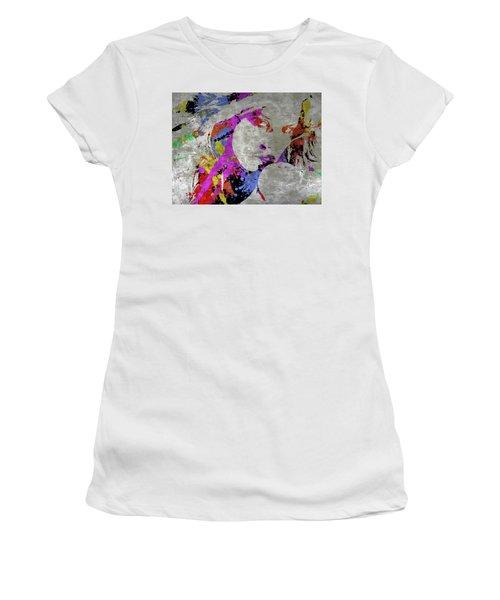True Colors On Silver Let Me Paint You Women's T-Shirt